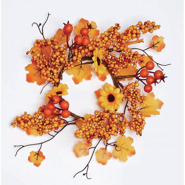 Maple 4.5 Wreath by The Holiday Aisle