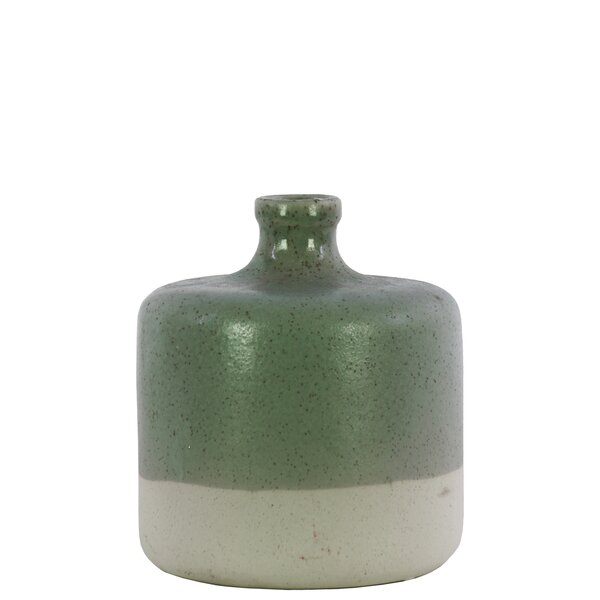 Alresford Ceramic Narrow Neck Table Vase by Highland Dunes