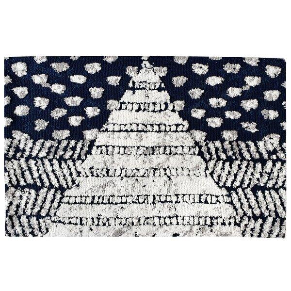 Nashua Maki Tile Rectangle Geometric Bath Rug