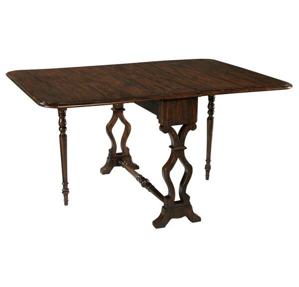 Crowle Drop Leaf Extendable Dining Table by Fleur De Lis Living