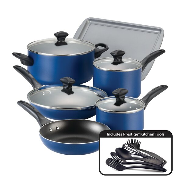 15-Piece Non-Stick Cookware Set by Farberware