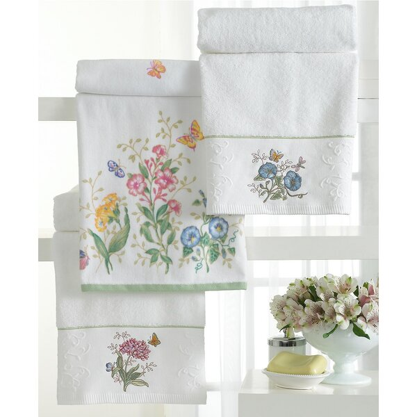 Darryl Embroidered Cotton Bath Towel by August Grove