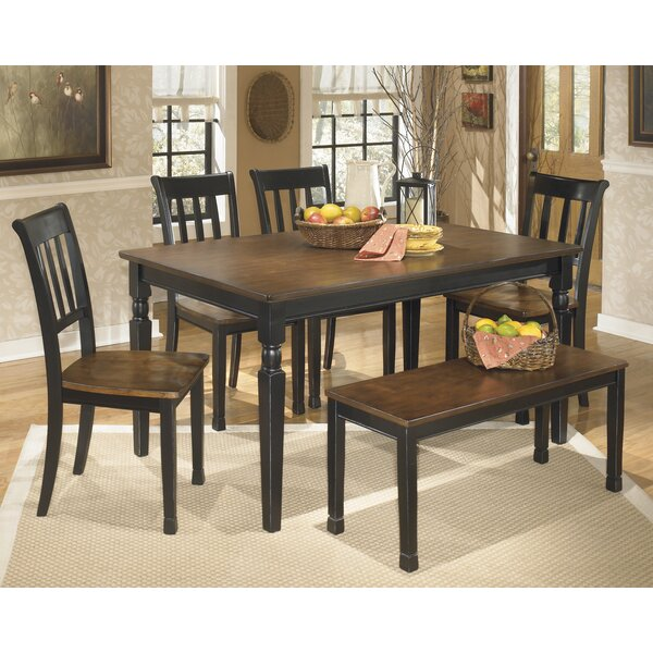 Carrol 6 Piece Dining Set by Winston Porter