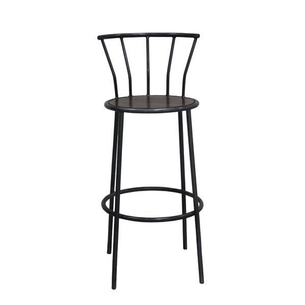 Bowens Metal Accent Stool By 17 Stories