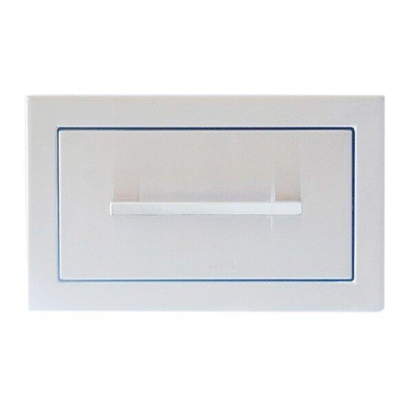 Beveled Frame Single Drawer by Sunstone Grills
