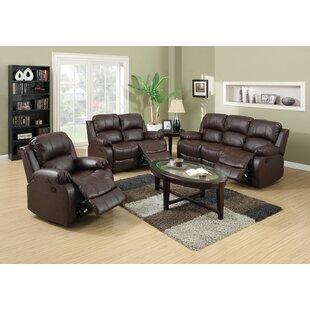 Paityn 3 Piece Reclining Living Room Set by Red Barrel Studio®
