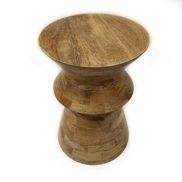 Wooden Stool by The Urban Port