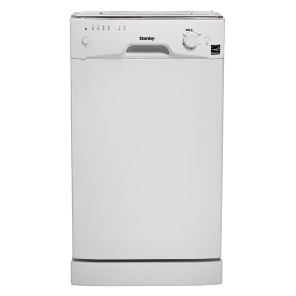 18 55 dBA Built-In Dishwasher by Danby