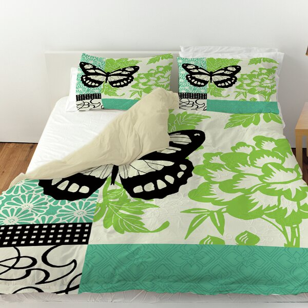 Butterfly Journey 2 Duvet Cover by Manual Woodworkers & Weavers