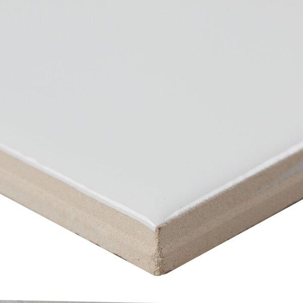 6 x 6 Ceramic Field Tile in White by Itona Tile