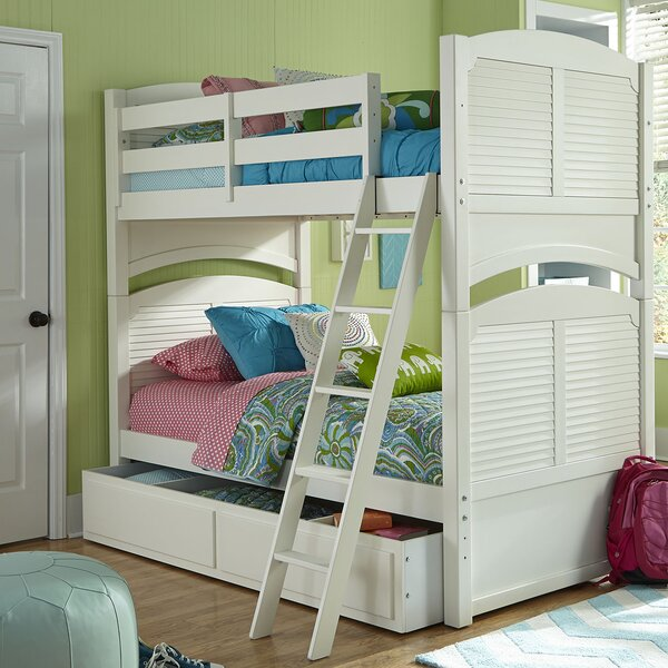 Crawfordville Full over Full Bunk Bed by Harriet Bee