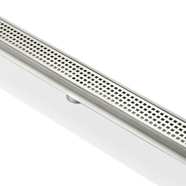 2 Grid Shower Drain by Kube Bath