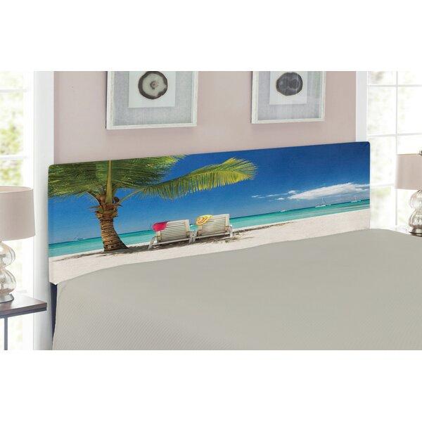 Seaside Upholstered Panel Headboard by East Urban Home East Urban Home