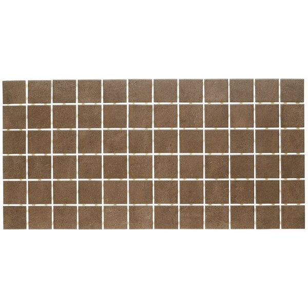 Fairfield 12 x 24 Ceramic Mosaic Tile in Chocolate by Itona Tile