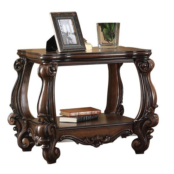 Ciaran Bottom Shelf Wooden End Table by Astoria Grand