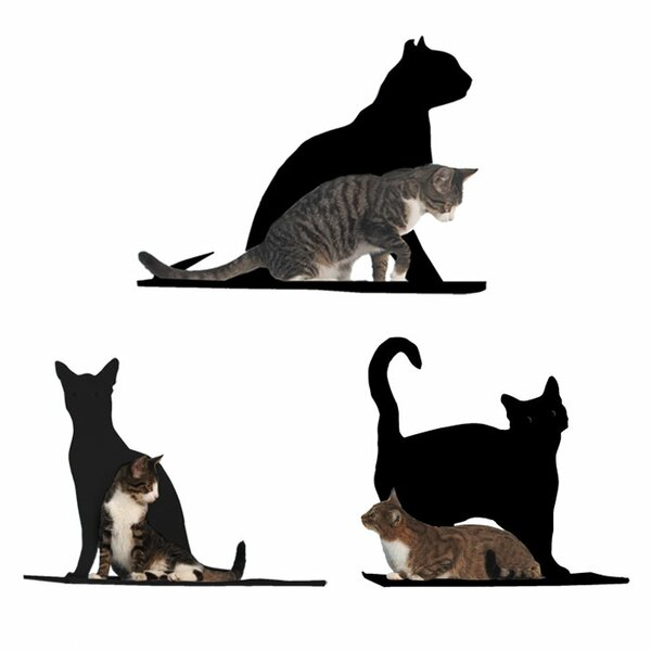 Silhouette Cat Perch (Set of 3) by The Refined Feline