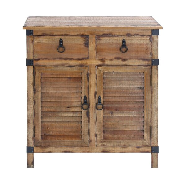 2 Door and 2 Drawer Accent Cabinet by Cole & Grey
