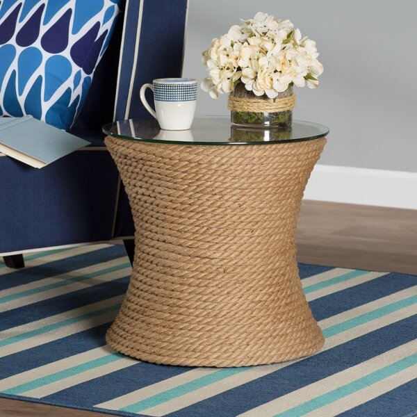 Brinda End Table by Beachcrest Home