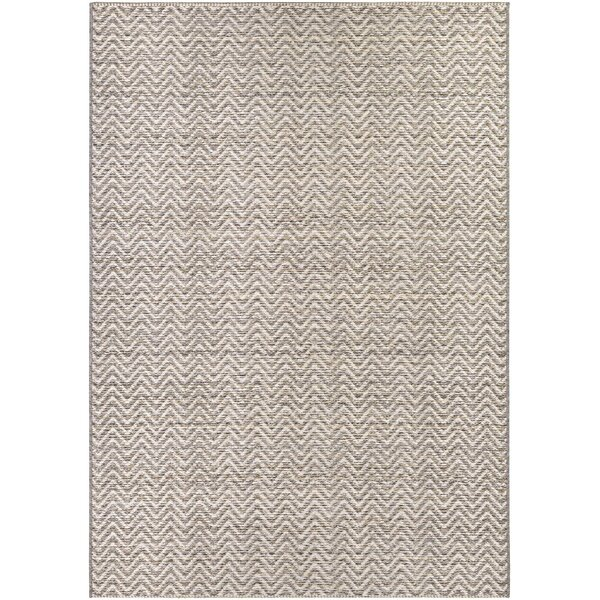 Carla Light Brown/Ivory Indoor/Outdoor Area Rug by Latitude Run