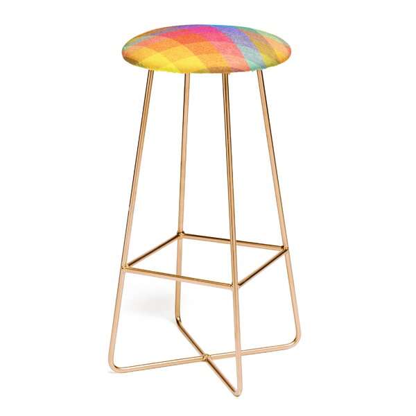 Nick Nelson Hysteria En La Primavera 30 Bar Stool by East Urban Home
