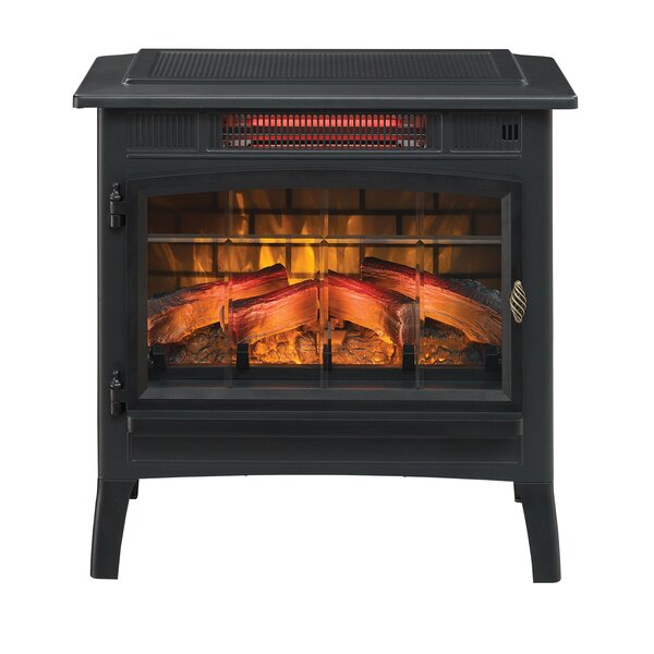 3D Flame Effect Infrared Quartz Electric Fireplace by Duraflame Electric
