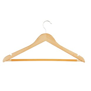 Affordable Wood Hanger (Set of 10) ByHoney Can Do