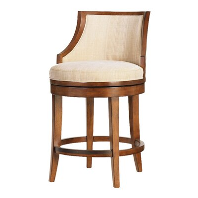 Bar Counter Swivel Stool Seat Bar Stool Seat Woven Cream image