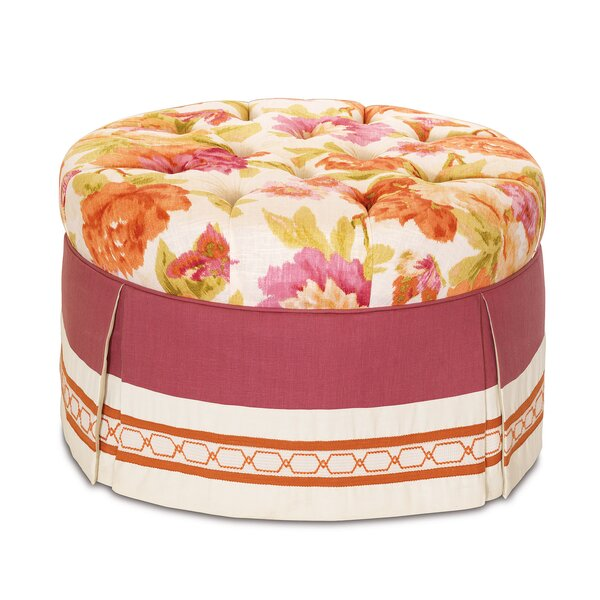 Caroline Cocktail Ottoman by Eastern Accents