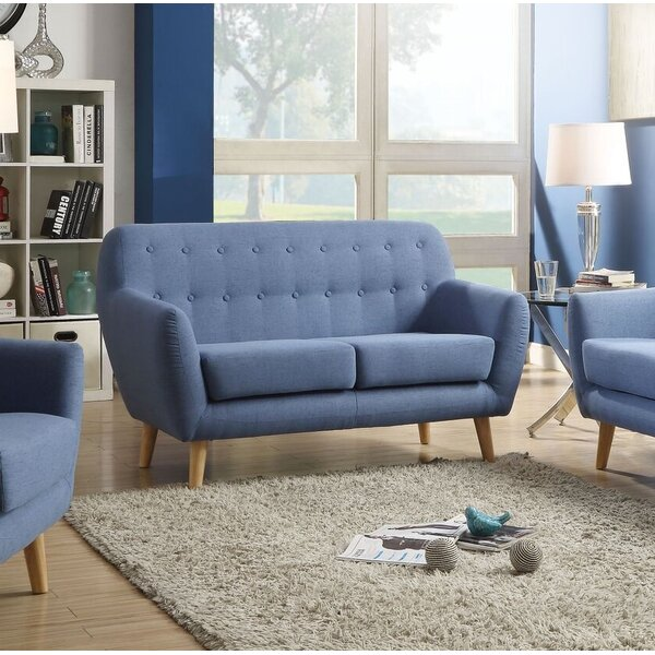 New Style Gutman Loveseat by Ivy Bronx by Ivy Bronx