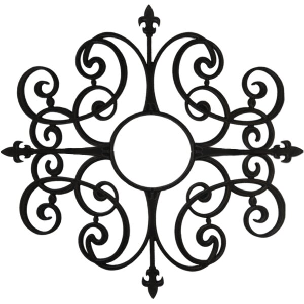 Paige Ceiling Medallion by Ceiling Art Store
