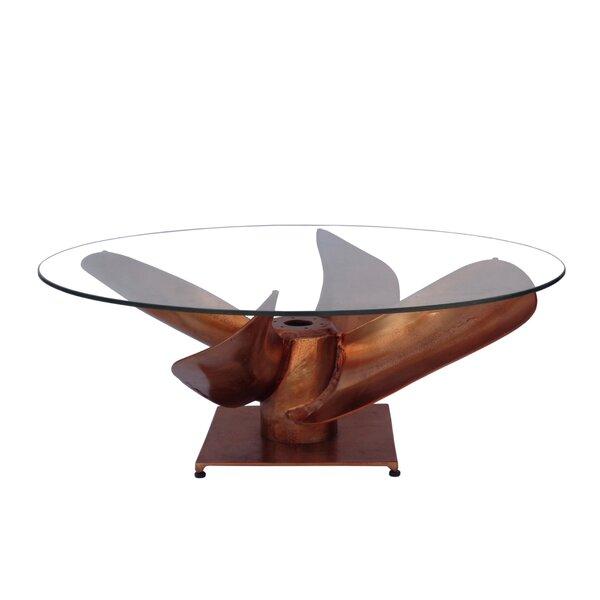 Merryman Pedestal Coffee Table By Bloomsbury Market