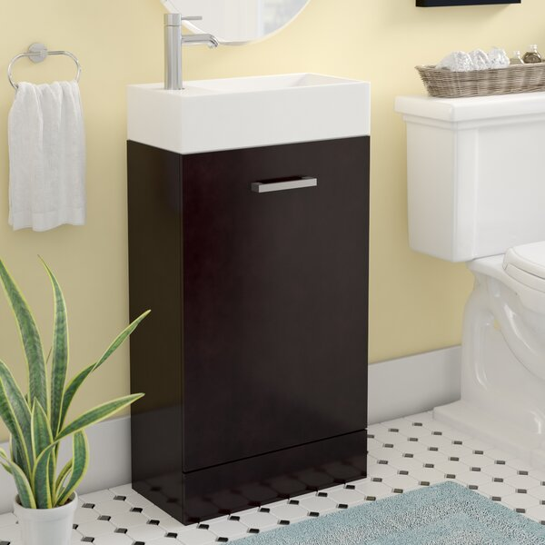 Lando Modern 18 Single Bathroom Vanity Set by Latitude Run