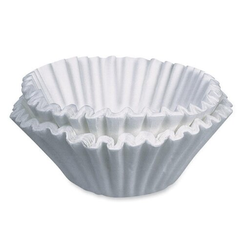 Commercial Size Coffee Filters, Commercial Size, 250/PK, White by CoffeePro