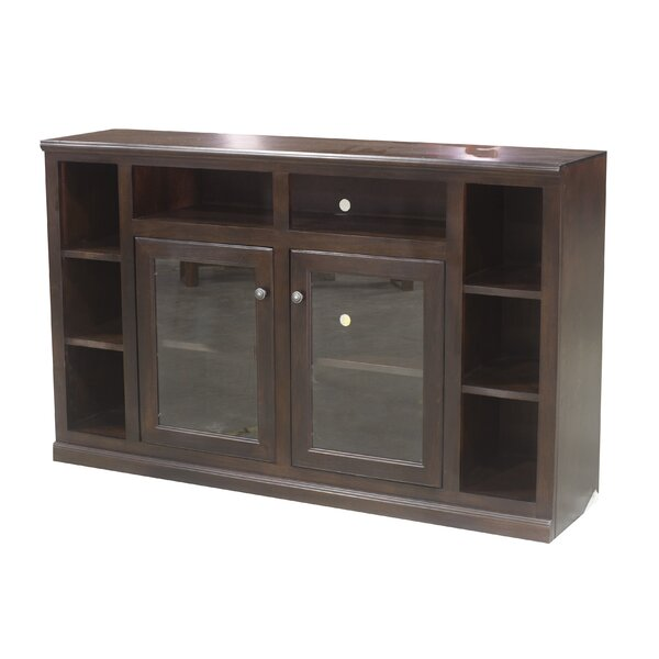 Solid Wood TV Stand For TVs Up To 75
