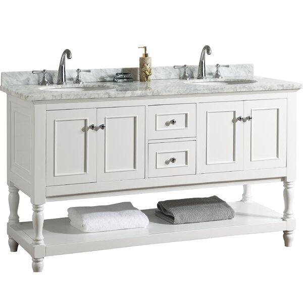 Cape Cod 60 Double Bathroom Vanity Set