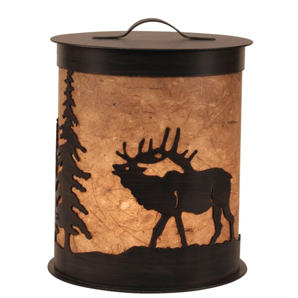 Kodiak Elk and Feather Tree Accent Night Light by Coast Lamp Mfg.