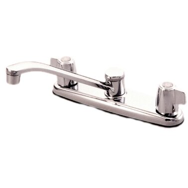Magellan Manhattan Double Handle Kitchen Faucet by Kingston Brass