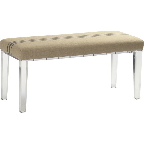 Emma Upholstered Bench by Zentique Zentique