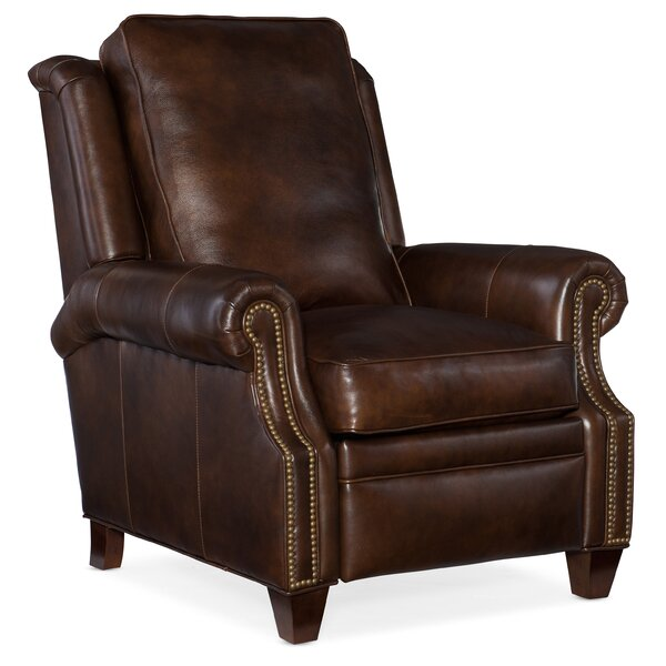 Roe 3-Way Leather Recliner By Bradington-Young