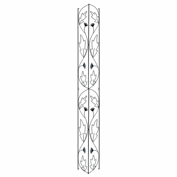 Downspout Iron Gothic Trellis by ACHLA