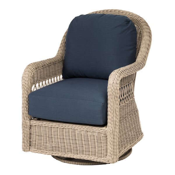 Barns Patio Swivel Glider with Cushions by Darby Home Co