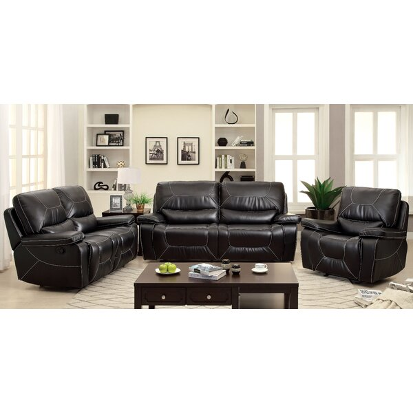 Lockheart Reclining Configurable Living Room Set by Latitude Run