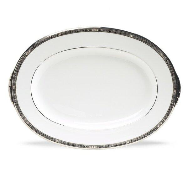 Chatelaine Platinum Platter by Noritake