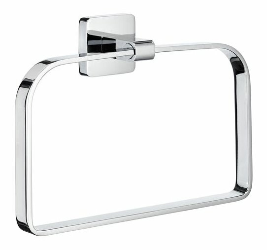 Ice Wall Mounted Towel Ring by Smedbo