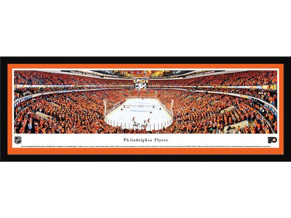 NHL Philadelphia Flyers - Playoffs by James Blakeway Framed Photographic Print by Blakeway Worldwide Panoramas, Inc