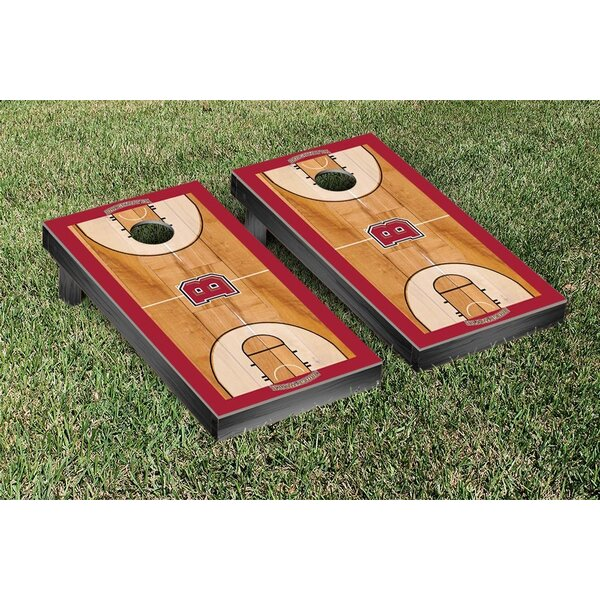 NCAA Basketball Court Version Cornhole Game Set by Victory Tailgate