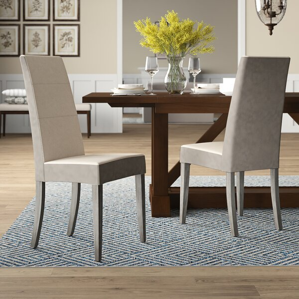 Salerno Upholstered Dining Chair (Set of 2) by Brayden Studio
