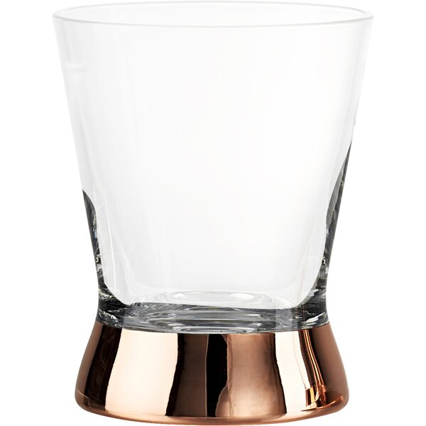 Gage Double 12 oz. Old Fashioned Glass (Set of 4) by Mint Pantry