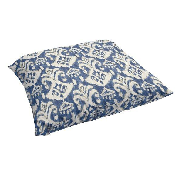 Pederson Indigo Indoor/Outdoor Floor Pillow by Andover Mills