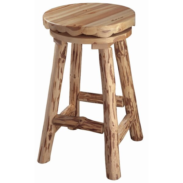 Rush Creek 30.5 Swivel Bar Stool by Rush Creek